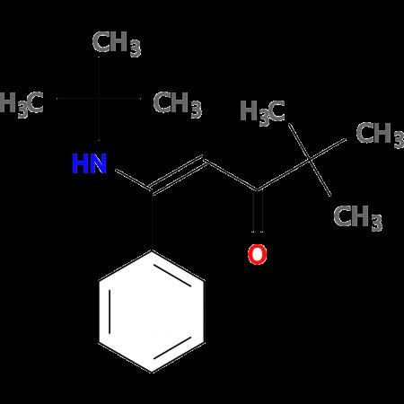 (1E)-1-(tert-Butylamino)-4,4-dimethyl-1-phenylpent-1-en-3-one