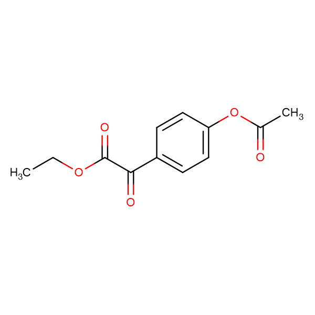 Ethyl 4-acetoxybenzoylformate