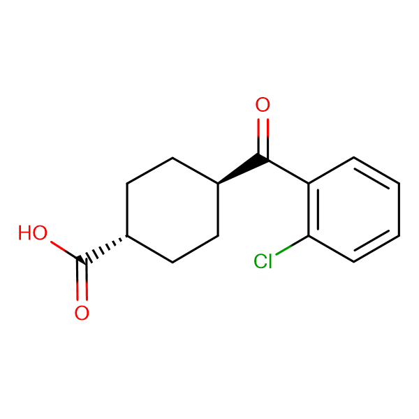 trans-4-(2-Chlorobenzoyl)cyclohexane-1-carboxylic acid