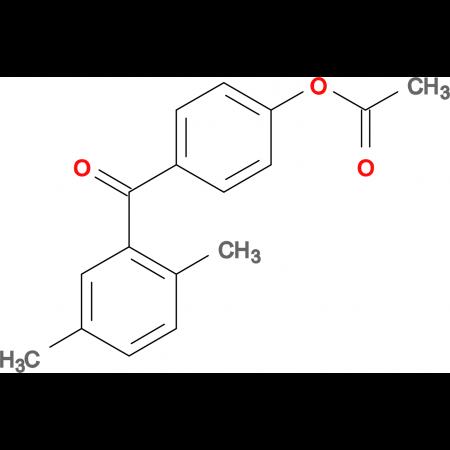 4-Acetoxy-2',5'-dimethylbenzophenone