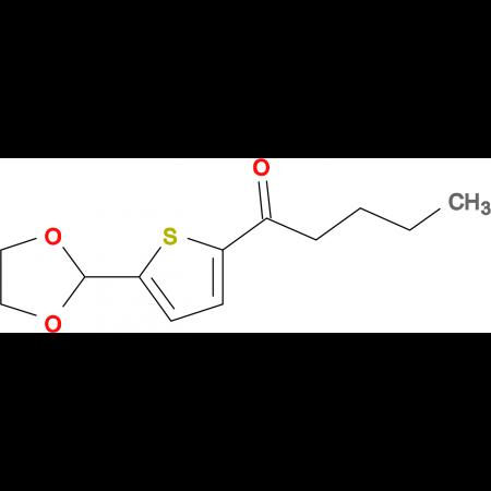 Butyl 5-(1,3-dioxolan-2-yl)-2-thienyl ketone