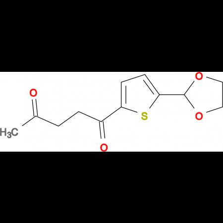 5-(1,3-dioxolan-2-yl)-2-thienyl 3-oxobutyl ketone
