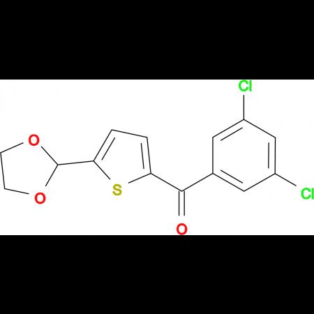 2-(3,5-Dichlorobenzoyl)-5-(1,3-dioxolan-2-yl)thiophene