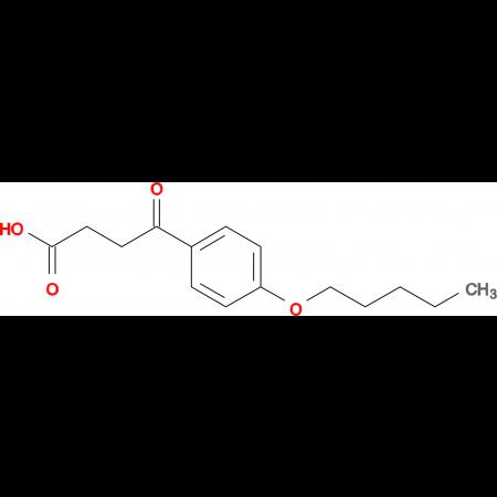 4-oxo-4-(4-pentyloxyphenyl)butyric acid