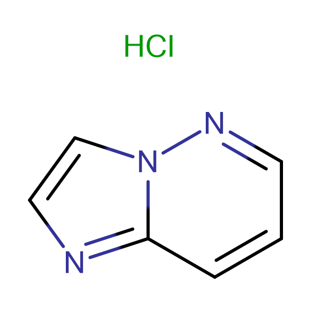 Imidazo[1,2-b]pyridazine hydrochloride