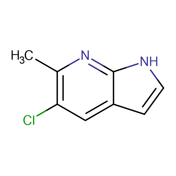 5-Chloro-6-methyl-1H-pyrrolo[2,3-b]pyridine