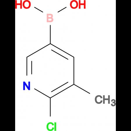 2-Chloro-3-methyl-5-pyridineboronic acid