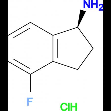 (S)-4-Fluoro-2,3-dihydro-1H-inden-1-aminehydrochloride