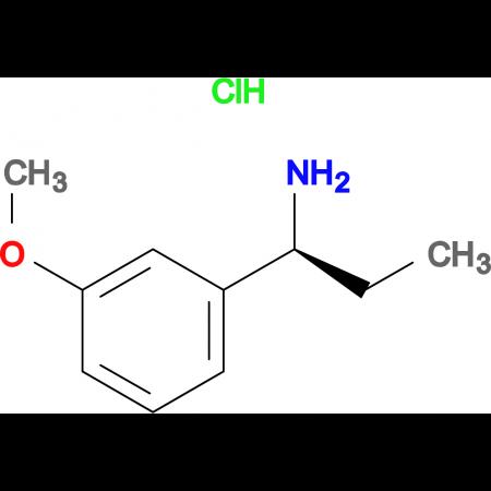 (1S)-1-(3-Methoxyphenyl)propylamine hydrochloride