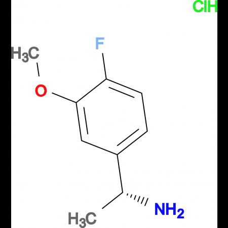 (R)-1-(4-Fluoro-3-methoxyphenyl)ethanaminehydrochloride