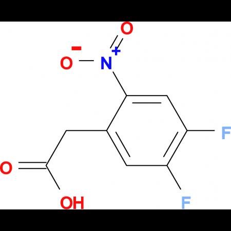 2-(4,5-Difluoro-2-nitrophenyl)acetic acid