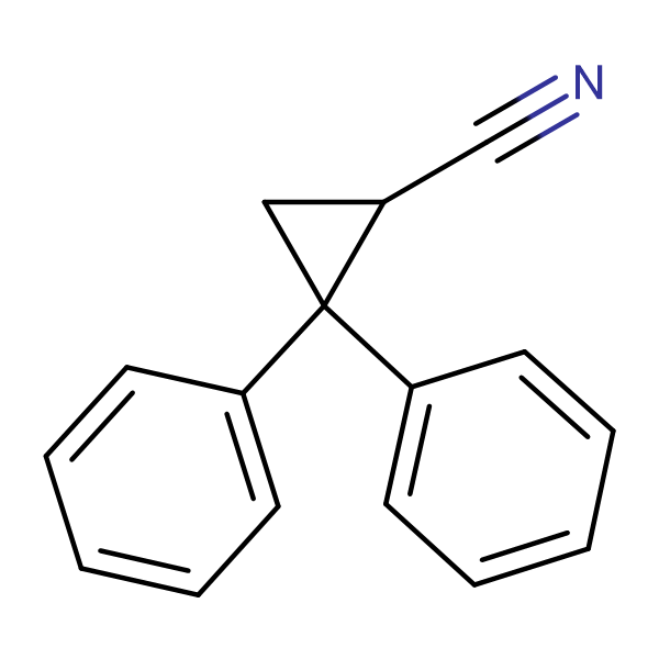 2,2-Diphenylcyclopropanecarbonitrile
