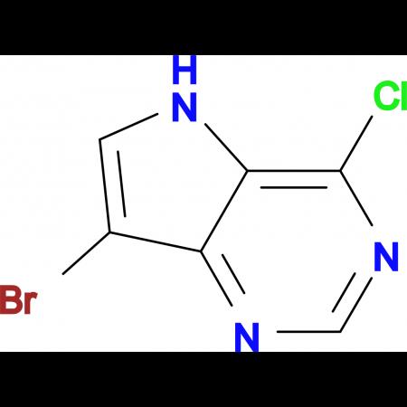 7-Bromo-4-chloro-5H-pyrrolo[3,2-d]pyrimidine