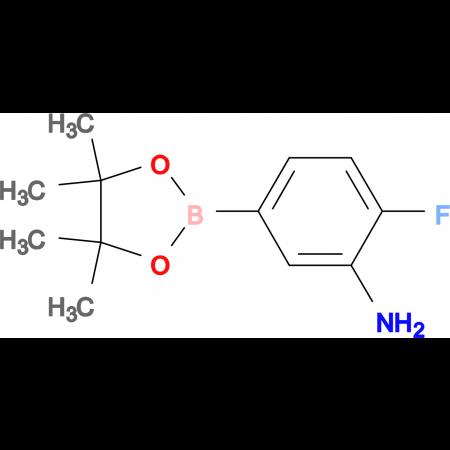 2-Fluoro-5-(4,4,5,5-tetramethyl-1,3,2-dioxaborolan-2-yl)aniline