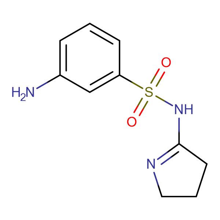 3-Amino-N-(3,4-dihydro-2H-pyrrol-5-yl)benzenesulfonamide