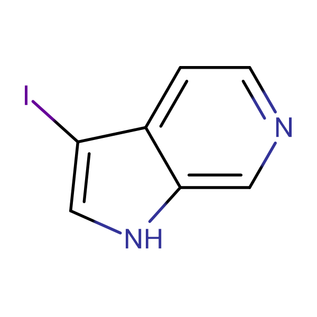 3-Iodo-1H-pyrrolo[2,3-c]pyridine