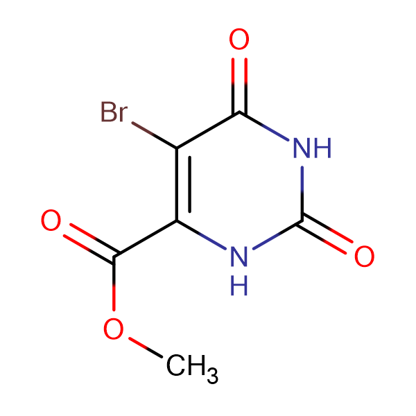 Methyl 5-bromo-2,6-dioxo-1,2,3,6-tetrahydropyrimidine-4-carboxylate
