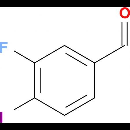 3-Fluoro-4-iodobenzaldehyde