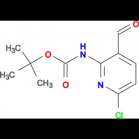 tert-Butyl 6-chloro-3-formylpyridin-2-ylcarbamate