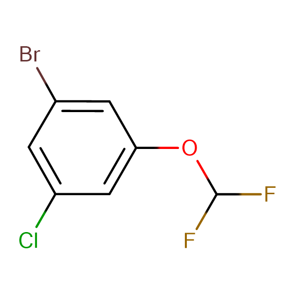 1-Bromo-3-chloro-5-(difluoromethoxy)benzene