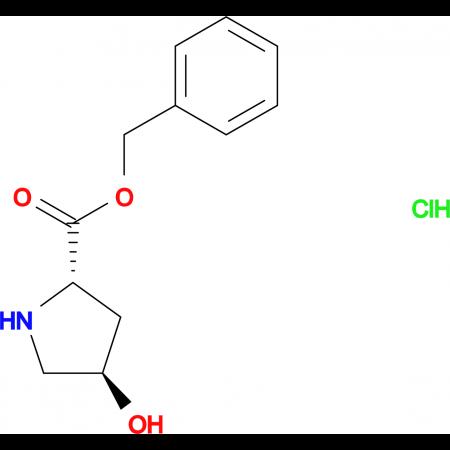 (2S,4R)-Benzyl 4-hydroxypyrrolidine-2-carboxylatehydrochloride