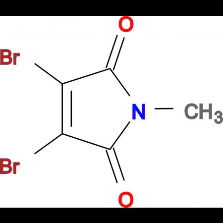 2,3-Dibromo-N-methylmaleimide