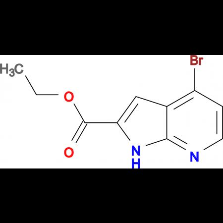 Ethyl 4-bromo-1H-pyrrolo[2,3-b]pyridine-2-carboxylate
