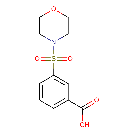 3-(Morpholinosulfonyl)benzoic acid