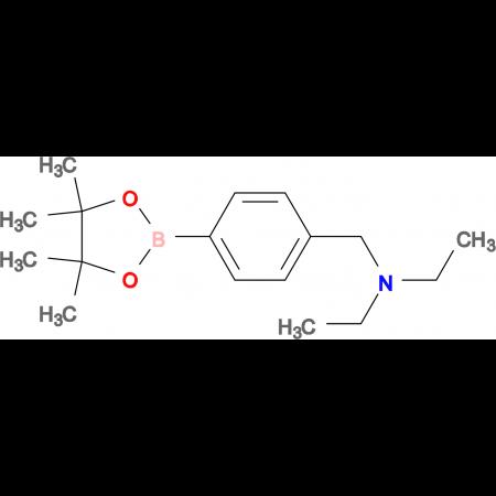 N-Ethyl-N-(4-(4,4,5,5-tetramethyl-1,3,2-dioxaborolan-2-yl)benzyl)ethanamine