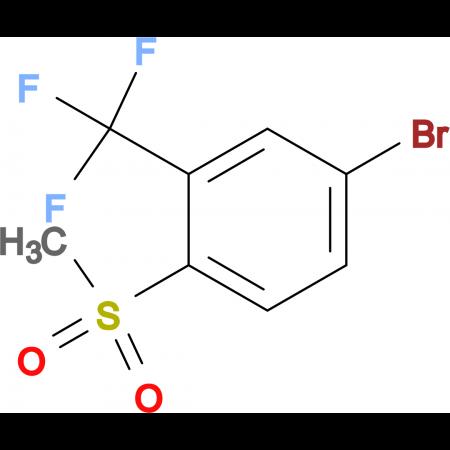 4-Bromo-1-(methylsulfonyl)-2-(trifluoromethyl)benzene
