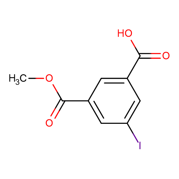 3-Iodo-5-(methoxycarbonyl)benzoic acid