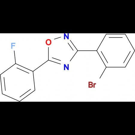 3-(2-Bromophenyl)-5-(2-fluorophenyl)-1,2,4-oxadiazole