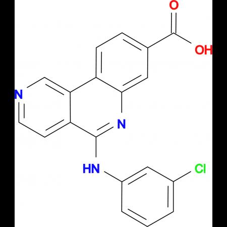 5-((3-Chlorophenyl)amino)benzo[c][2,6]naphthyridine-8-carboxylic acid