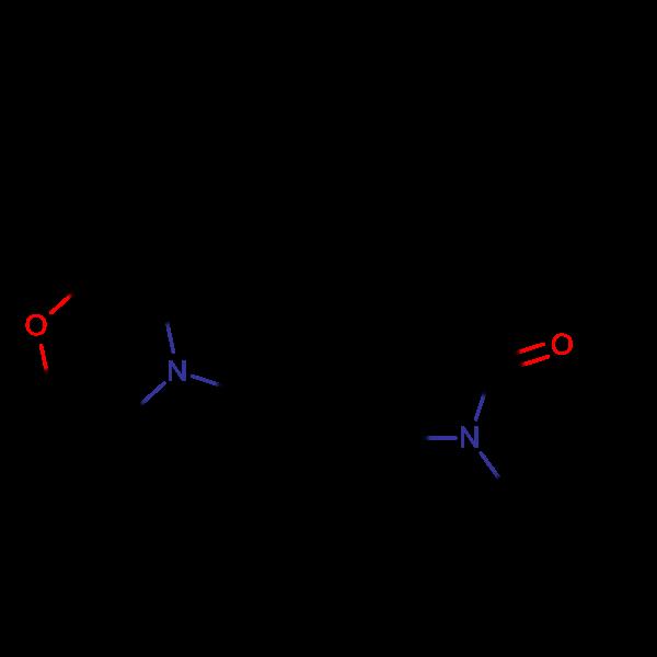 1-Ethyl-4-(2-morpholinoethyl)-3,3-diphenylpyrrolidin-2-one