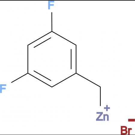 3,5-Difluorobenzylzinc bromide 0.5 M in Tetrahydrofuran