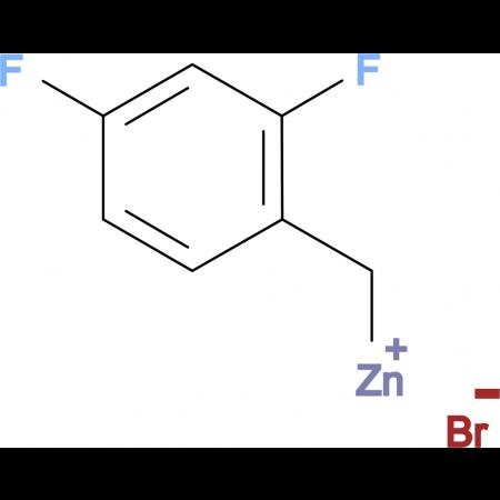 2,4-Difluorobenzylzinc bromide 0.5 M in Tetrahydrofuran
