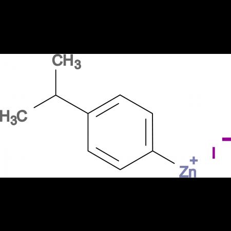 4-iso-Propylphenylzinc iodide 0.5 M in Tetrahydrofuran