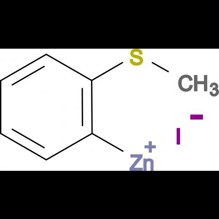2-(Thiomethyl)phenylzinc iodide 0.5 M in Tetrahydrofuran