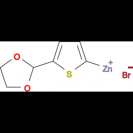 5-(1,3-Dioxolan-2-yl)-2-thienylzinc bromide 0.5 M in Tetrahydrofuran