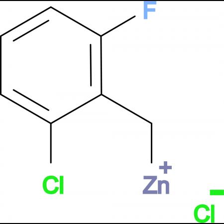 2-Chloro-6-fluorobenzylzinc chloride 0.5 M in Tetrahydrofuran