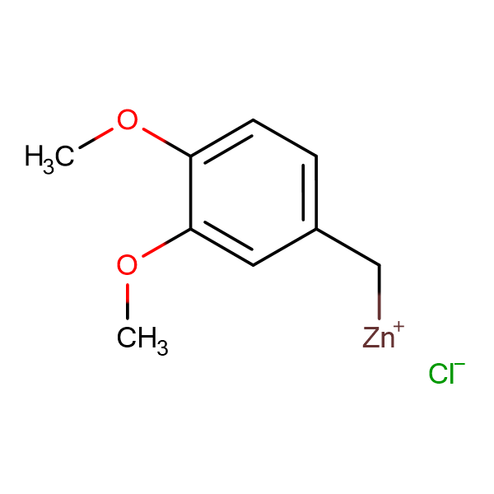 3,4-Dimethoxybenzylzinc chloride 0.5 M in Tetrahydrofuran