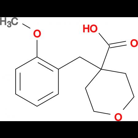 4-[(2-Methoxyphenyl)methyl]oxane-4-carboxylic acid