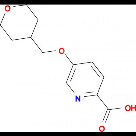 5-(Oxan-4-ylmethoxy)pyridine-2-carboxylic acid