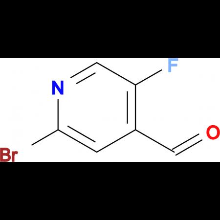 2-Bromo-5-fluoroisonicotinaldehyde