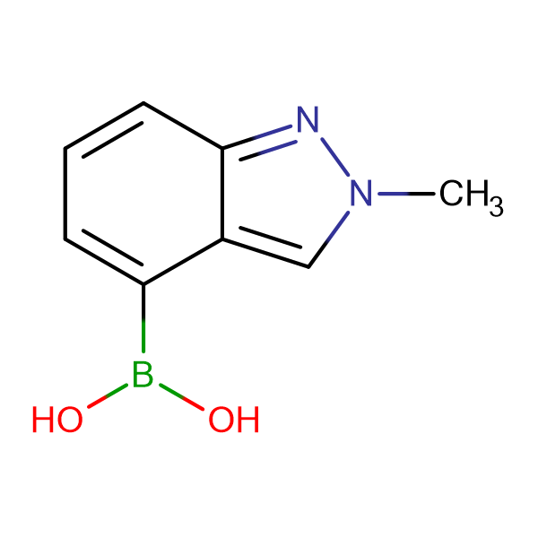(2-Methyl-2H-indazol-4-yl)boronic acid