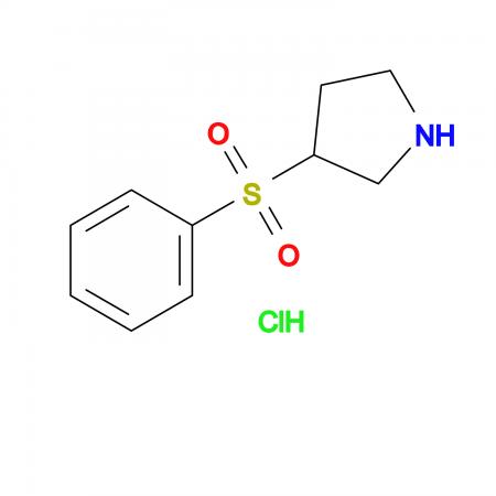 3-(Phenylsulfonyl)pyrrolidine hydrochloride