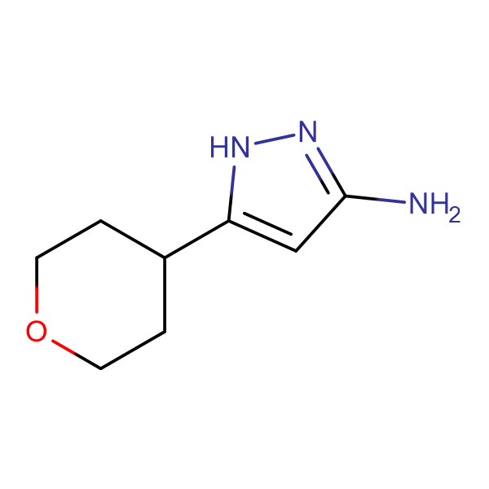 5-(Tetrahydro-2H-pyran-4-yl)-1H-pyrazol-3-amine