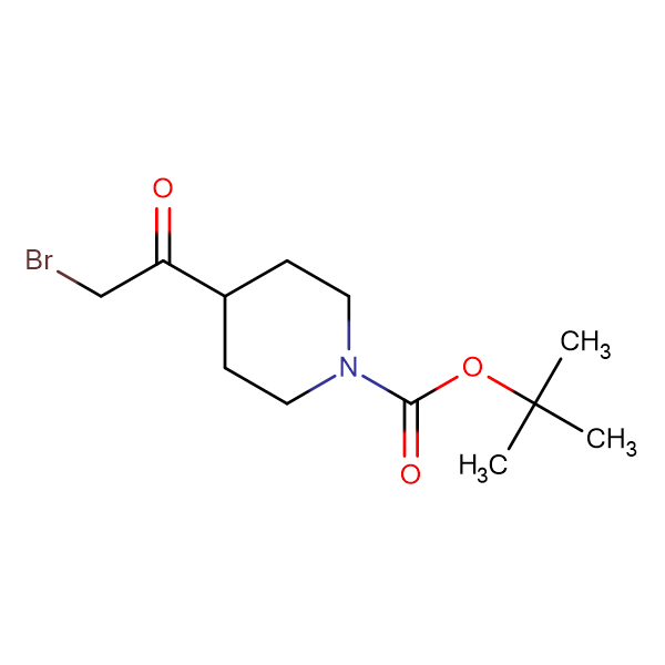 tert-Butyl 4-(2-bromoacetyl)piperidine-1-carboxylate
