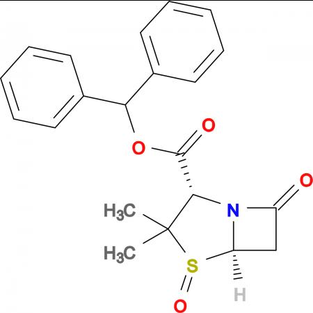 (2S,5R)-Benzhydryl 3,3-dimethyl-7-oxo-4-thia-1-azabicyclo[3.2.0]heptane-2-carboxylate 4-oxide