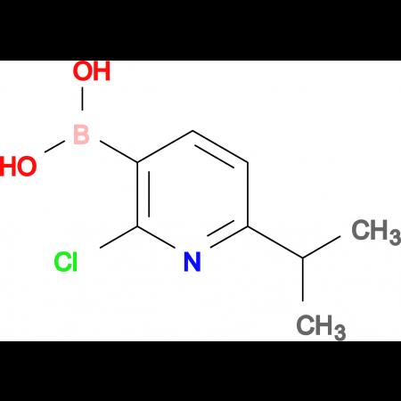 (2-Chloro-6-isopropylpyridin-3-yl)boronic acid